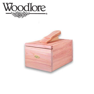 [86010] Professional-Style Cedar Shoe Care Valet